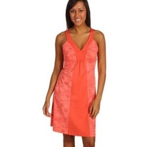 PATAGONIA Corinne Coral Dress Size Medium